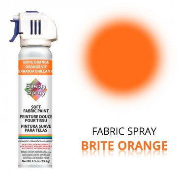 Fabric Paint Brite Orange – Bild 1
